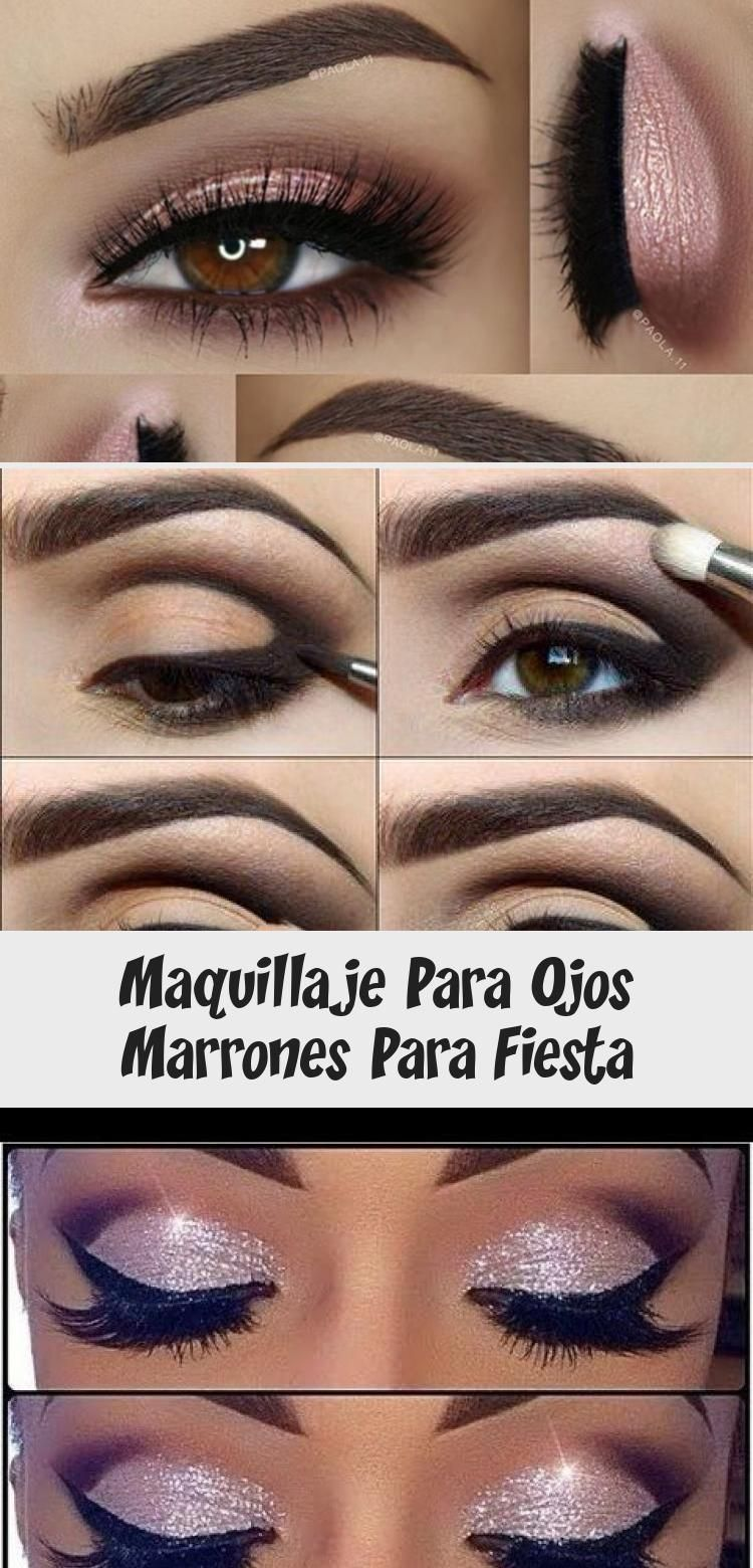 Photo of Maquillaje Para Ojos Marrones Para Fiesta – Eye Makeup