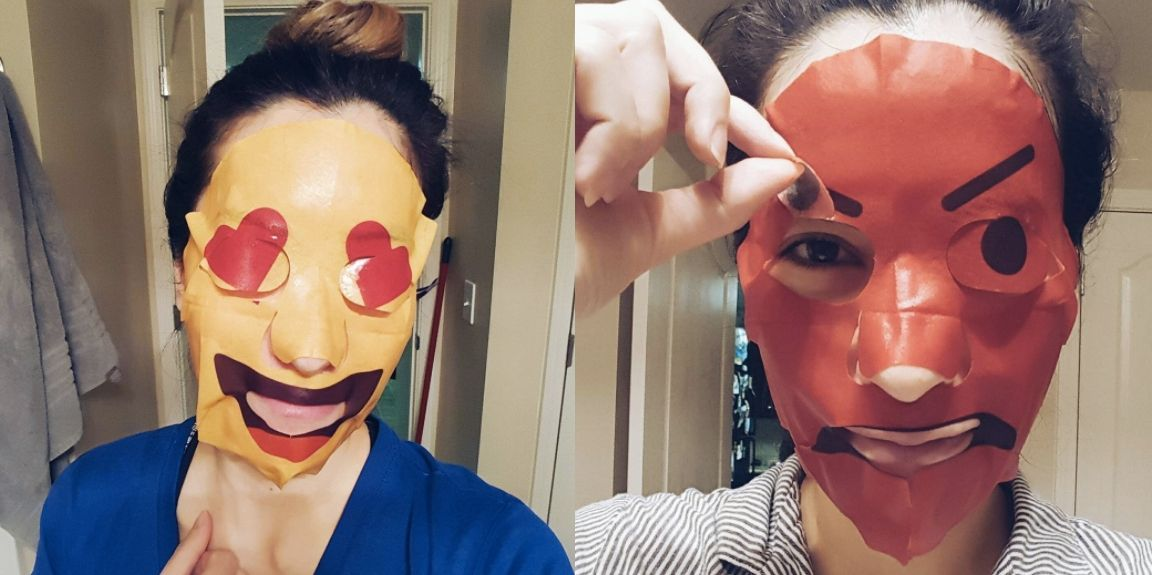 Emoji Face Masks Are Here, and They're Terrifying - Cosmopolitan.com