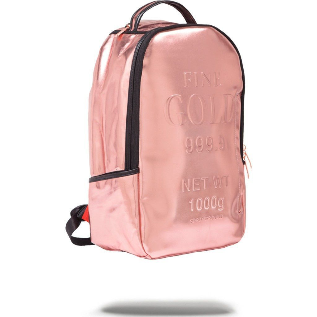 df6239f48ca1 Sprayground Rose Gold Brick Backpack