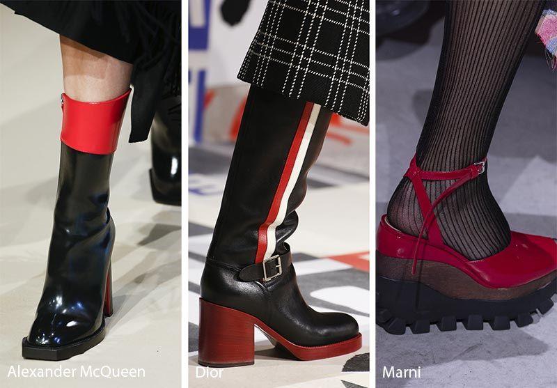 Fall/ Winter 2018-2019 Shoe Trends