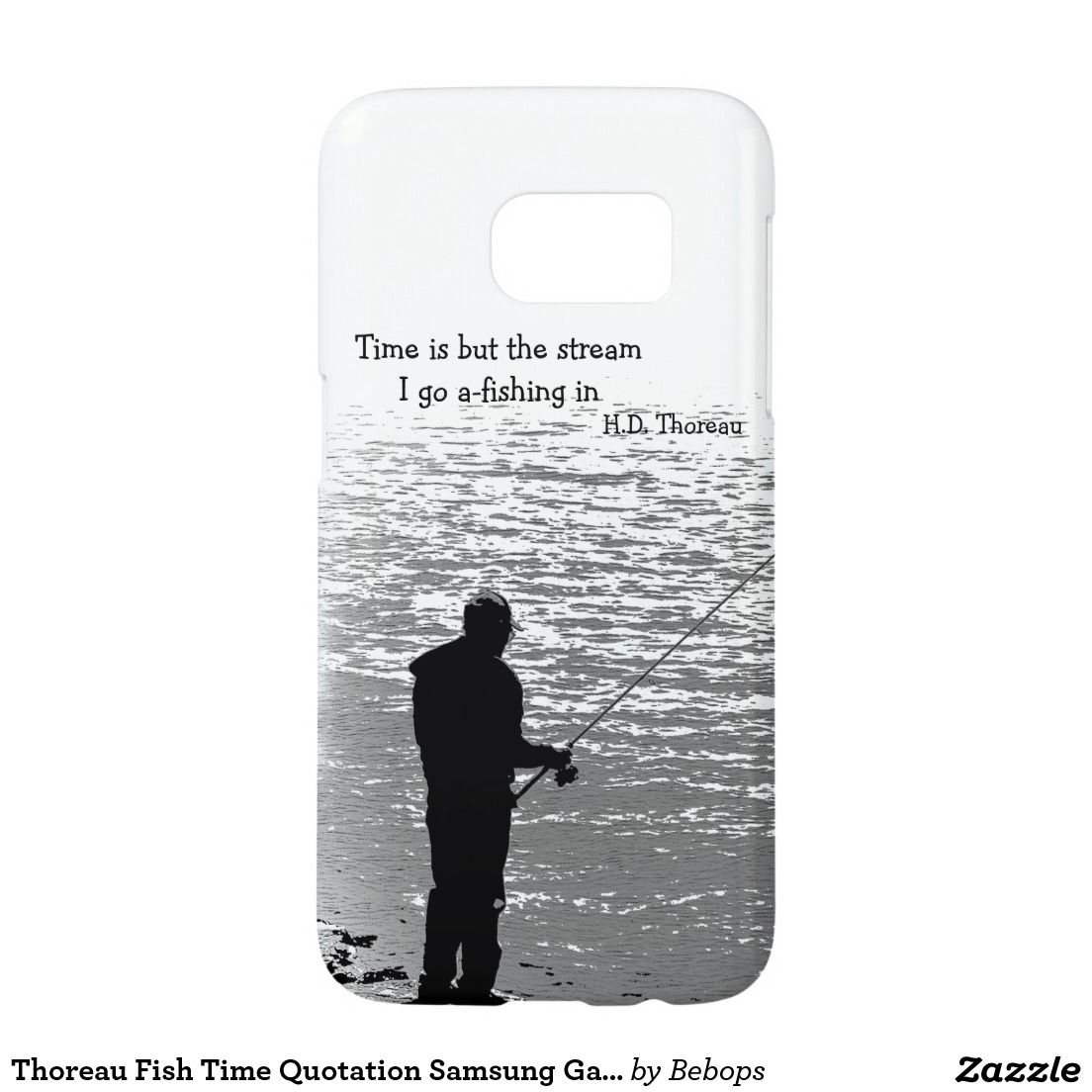 Thoreau Fish Time Quotation Samsung Galaxy S7 Case