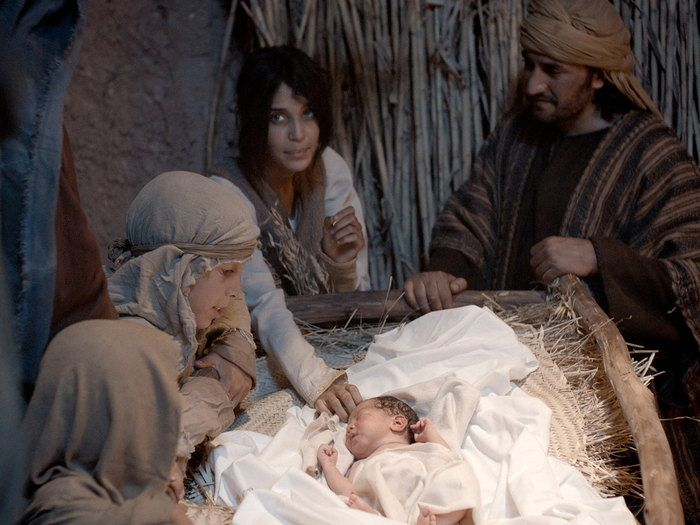 Free Bible images of Angels announce the birth of Jesus to – Angels Announce the Birth of Jesus