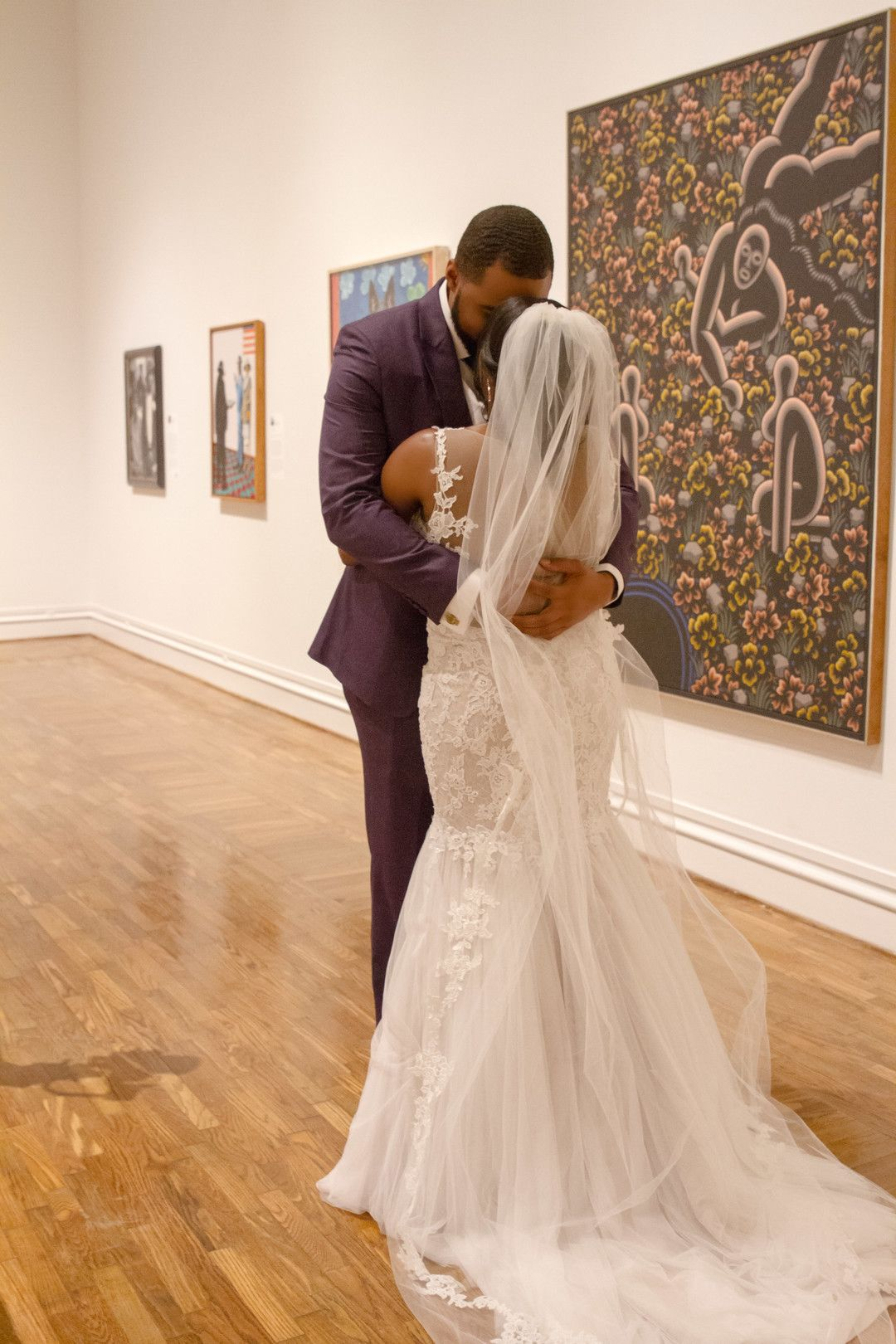 A Night At The Museum Columbus Ga Black Nuptials Night At The Museum Night Wedding Dresses