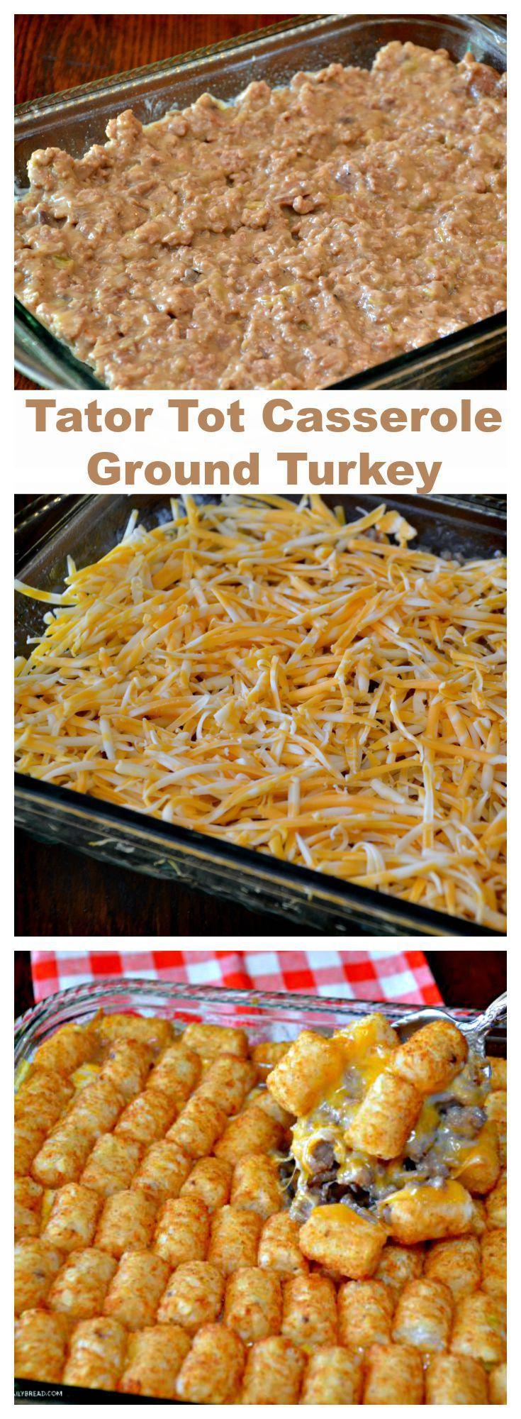Ground Turkey Casserole Recipes Pasta
