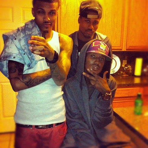 August Alsina Brother Picture August alsina brother - google