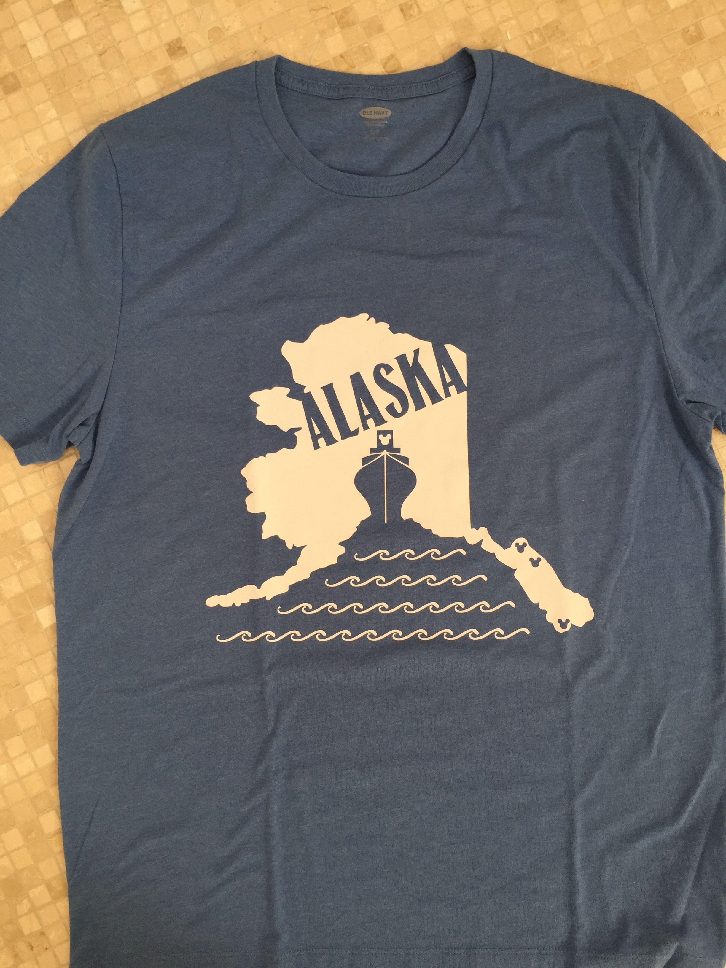 29fbb20e Disney Cruise Alaska T-Shirt #disneyside #disneycruiseline #alaska ...