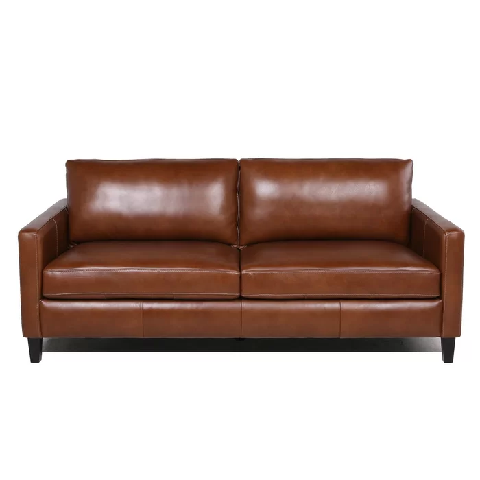 Berube Leather Sofa Reviews Birch Lane In 2020 Leather Sofa Sofa Leather Loveseat