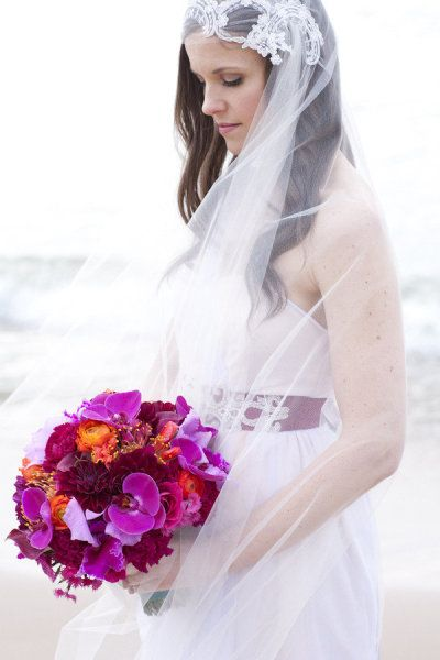 Lovely veil by Violet Bells - Moroccan inspired photo shoot by Heather DeCamp Photography