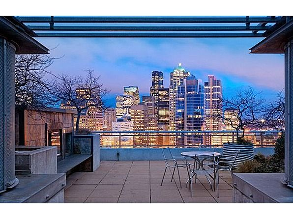 We Spy Zillow Headquarters From This Jaw Dropping Balcony Condo View