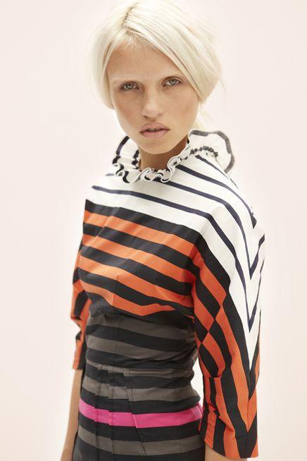 Prada dress-love the stripes!