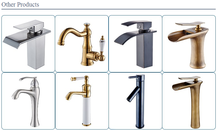 Fapully New Goods Gold Plated 3 Hole Bathroom Sink Faucets - Buy ...