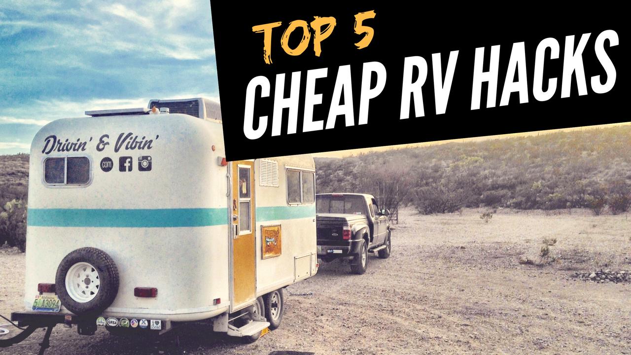 Fulltime travel in a vintage camper. Budget friendly