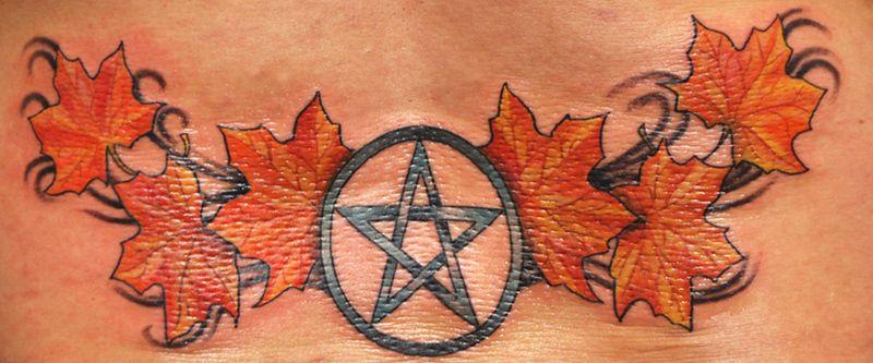 Pagan tattoos pentacle tattoo pagan tattoo wiccan tattoos