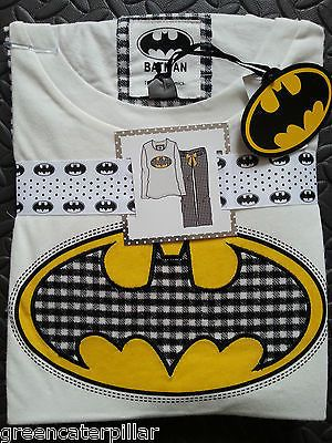 Ladies BATMAN PRIMARK PJ PYJAMA SET New sizes 6-20