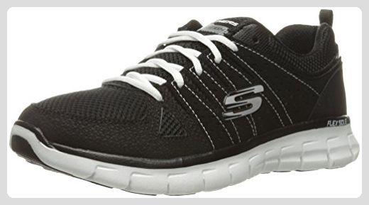 Skechers , Damen Sneaker schwarz schwarz weiß Sneakers