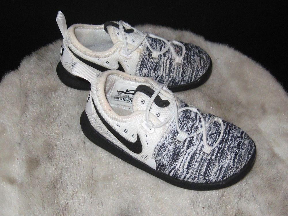 new styles b72a7 8377f Toddler Nike KD 9 IX Oreo White Black Size 8C (855910-100 ...