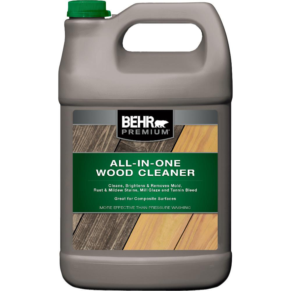 Behr Premium 1 Gal All In One Wood And Deck Cleaner 06301n