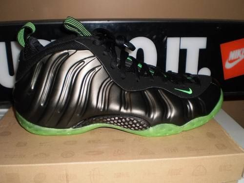 lowest price de10a 18619 ... reduced nike air foamposite one sz 10.5 neon lime hoh penny pro rare  galaxy lebron yeezy