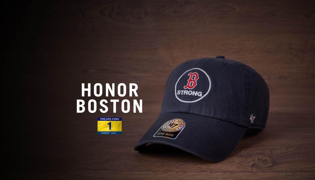 Boston Red Sox MLB B Strong 47 Brand Cap  5fe150f05da
