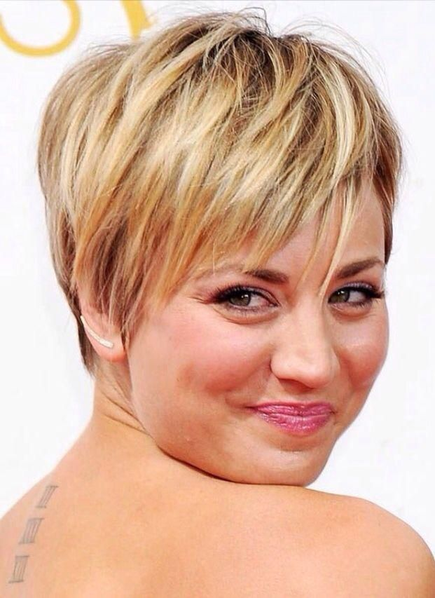 44+ Short haircuts for round faces and thin hair ideas