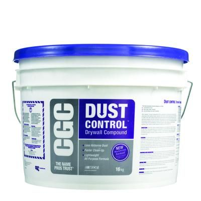 Cgc Cgc Dust Control Drywall Compound Ready Mixed 16 Kg Pail 380163 Home Depot Canada