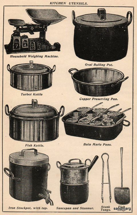 Image Result For Victorian Pots And Pans Kitchen