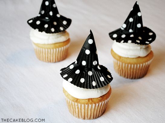 halloween witch cupcakes recipes