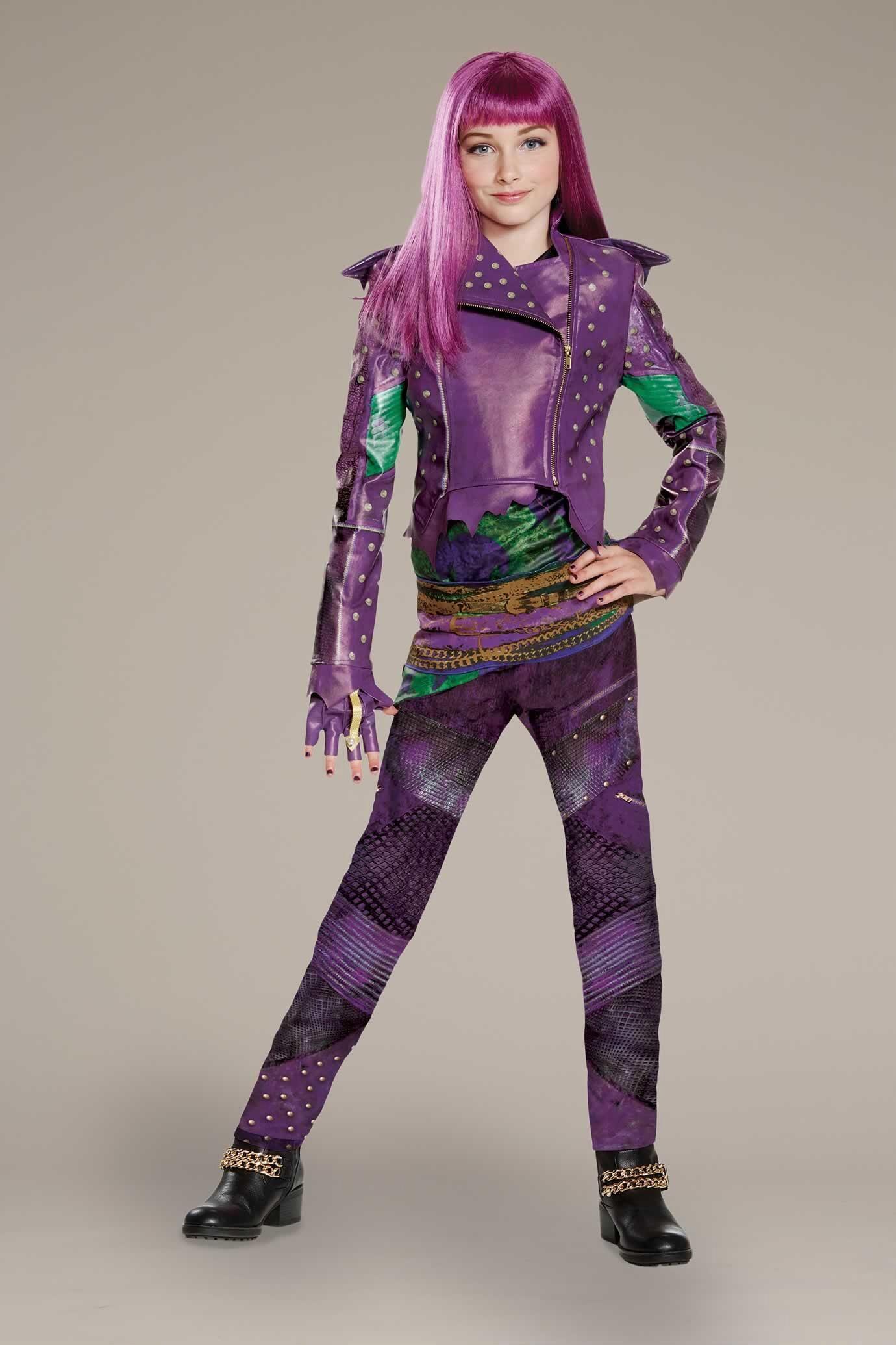 Disney Descendants Mal Costume for Girls
