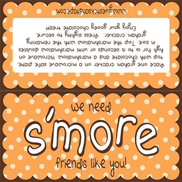 We need s'more people like you! w/ printables | Holiday ...