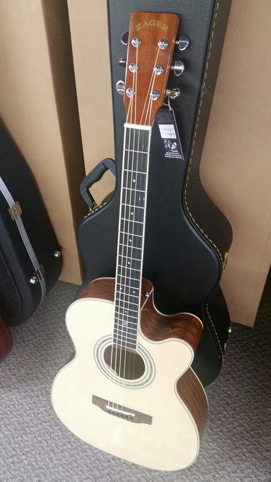 Zager Zad50ceom Acoustic Electric Guitar Acoustic Electric Acoustic Electric Guitar Guitar