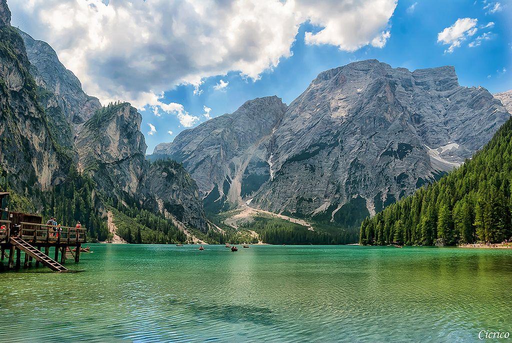 Italia, Lago di Braies