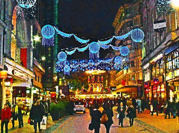 Birmingham Christmas Lights.Where Is Birmingham Xmas Market Xmas Ideas 2019 German