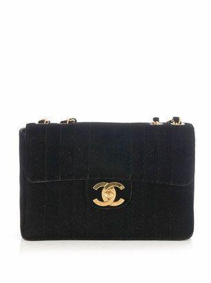 288a1bba27b8 ShopStyle: Chanel Vintage Jumbo velvet 2.55 bag | Wish List ...