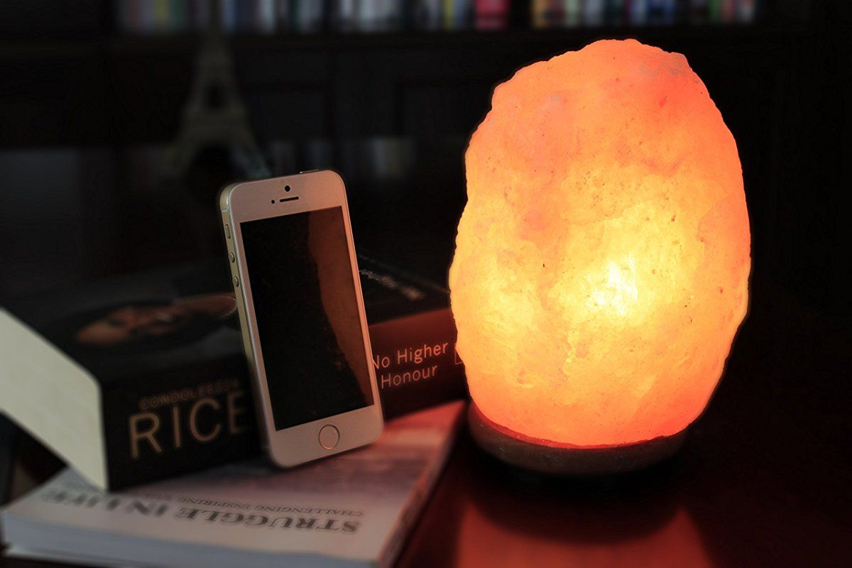 Authentic Himalayan Salt Lamp Fair Wbm Himalayan Glow 1001 Hand Carved Natural Salt Lamp With Genuine Design Decoration