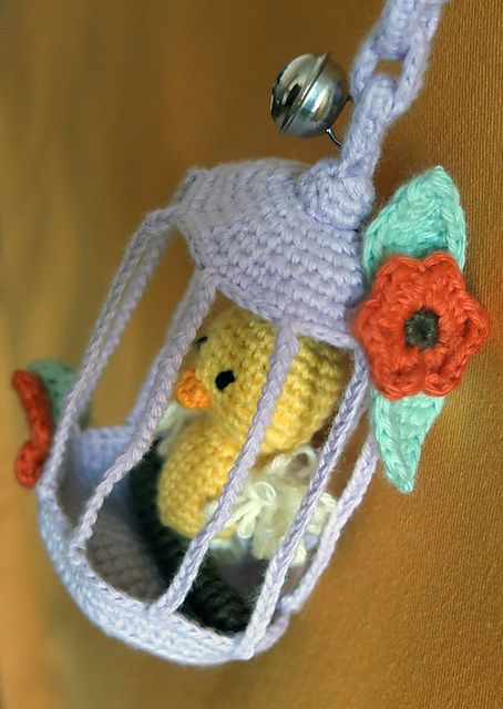 FREE Pattern Download Ravelry: Flup Canary Bird Cat Toy/Window ...