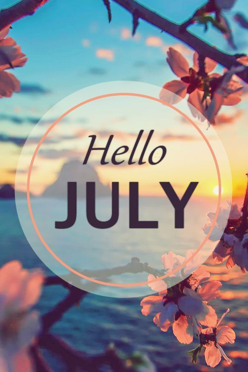 Attractive Hello July Wallpapers 2016 Welcome July Images