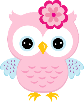 corujinhas minus owls pinterest pink owl owl and clip art rh pinterest com pink and brown owl clip art cute pink owl clip art