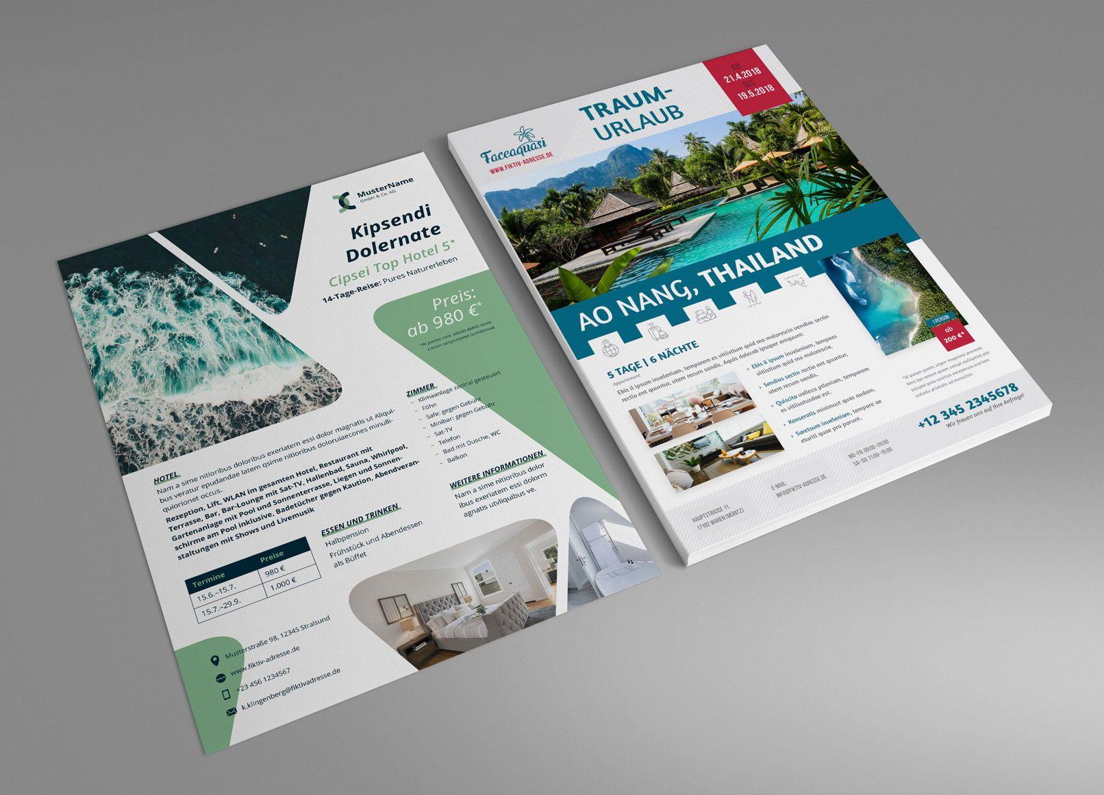 10 Inspirierende Flyer Designs Saxoprint Blog Saxoprint 7