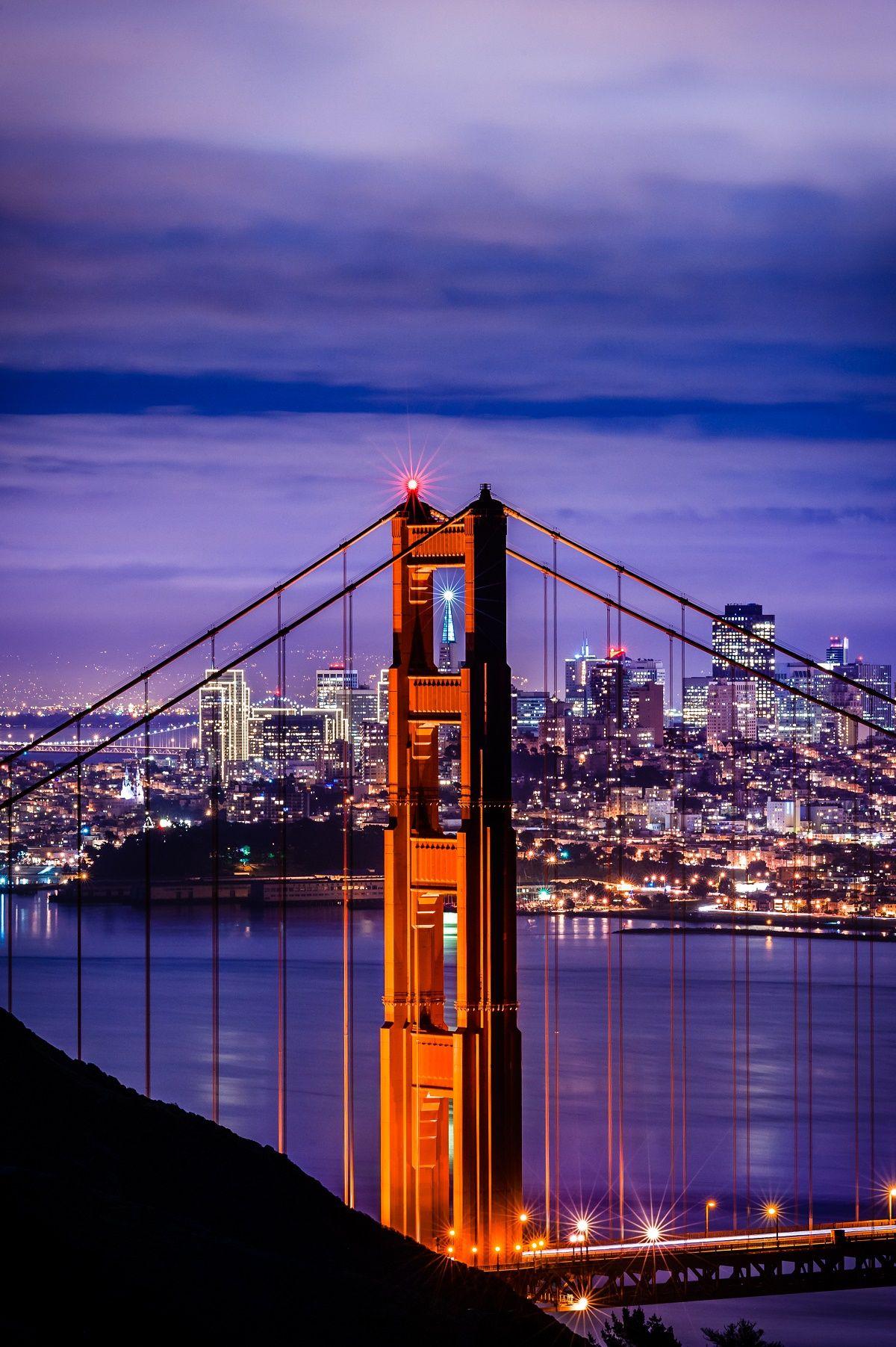 San Francisco City Lights Evening Tour San Francisco City San Francisco Tours San Francisco