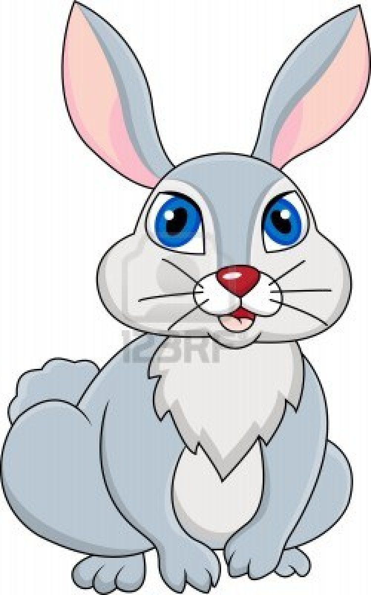 medium resolution of rabbit cartoon stock photo
