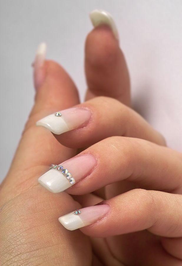 Creative Ideas For Decorating Nails Makeup And Beyond Wedding Nail Art Design Manicure Nail Designs Nail Art Wedding
