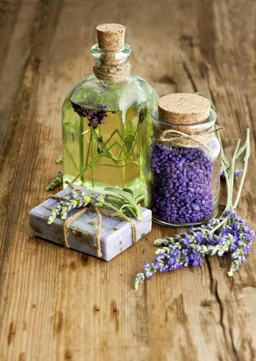 Lavender infused oil+hand made soap favors