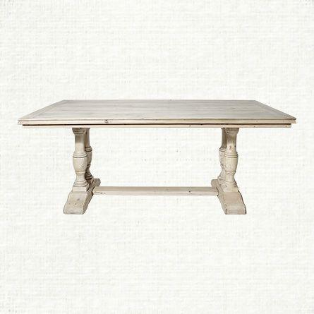 Pietro 94 Dining Table In Bleached Oak Arhaus Furniture