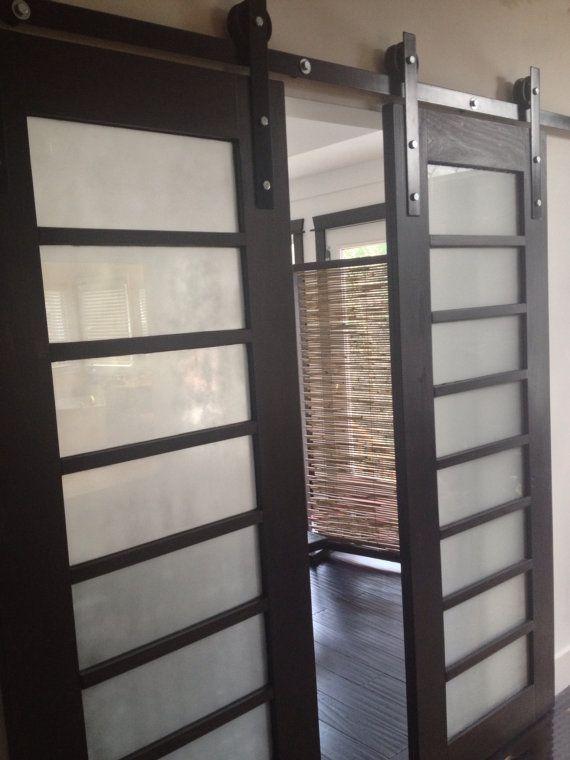pocket door design options sliding shoji barn doors made to order by elliswyattdesigns