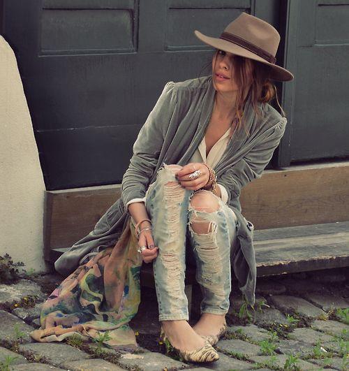 #Hippie Style ♥ ☮k☮ #bohemian