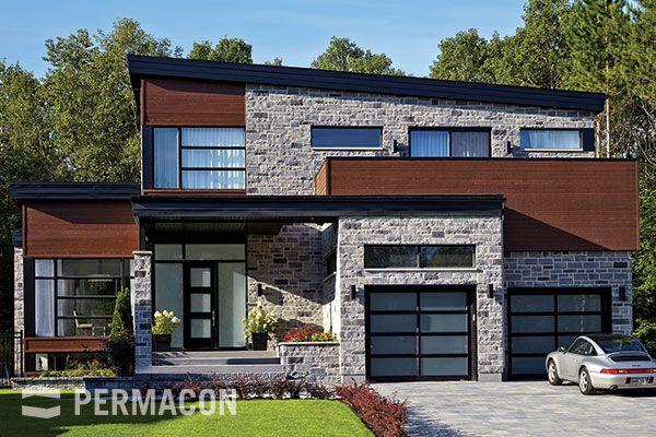 Stones Lafitt® Stone and Lafitt® Alto Stone Modern Home Design