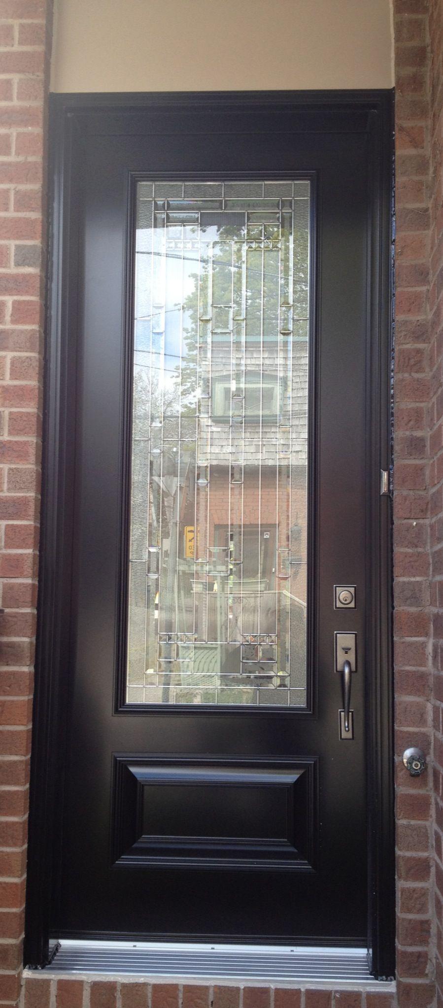 Single Fiberglass Door Full Glass Great As A Entry Doorif Only