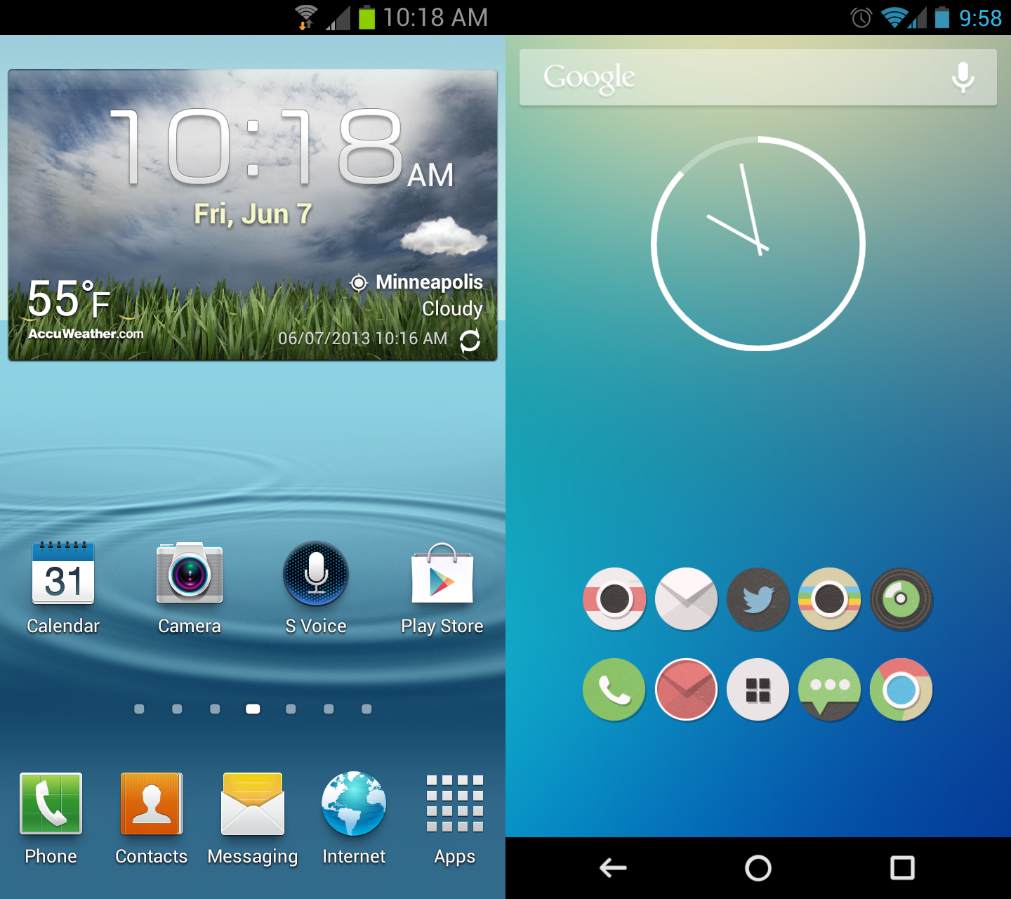 Home Screen Android Customize