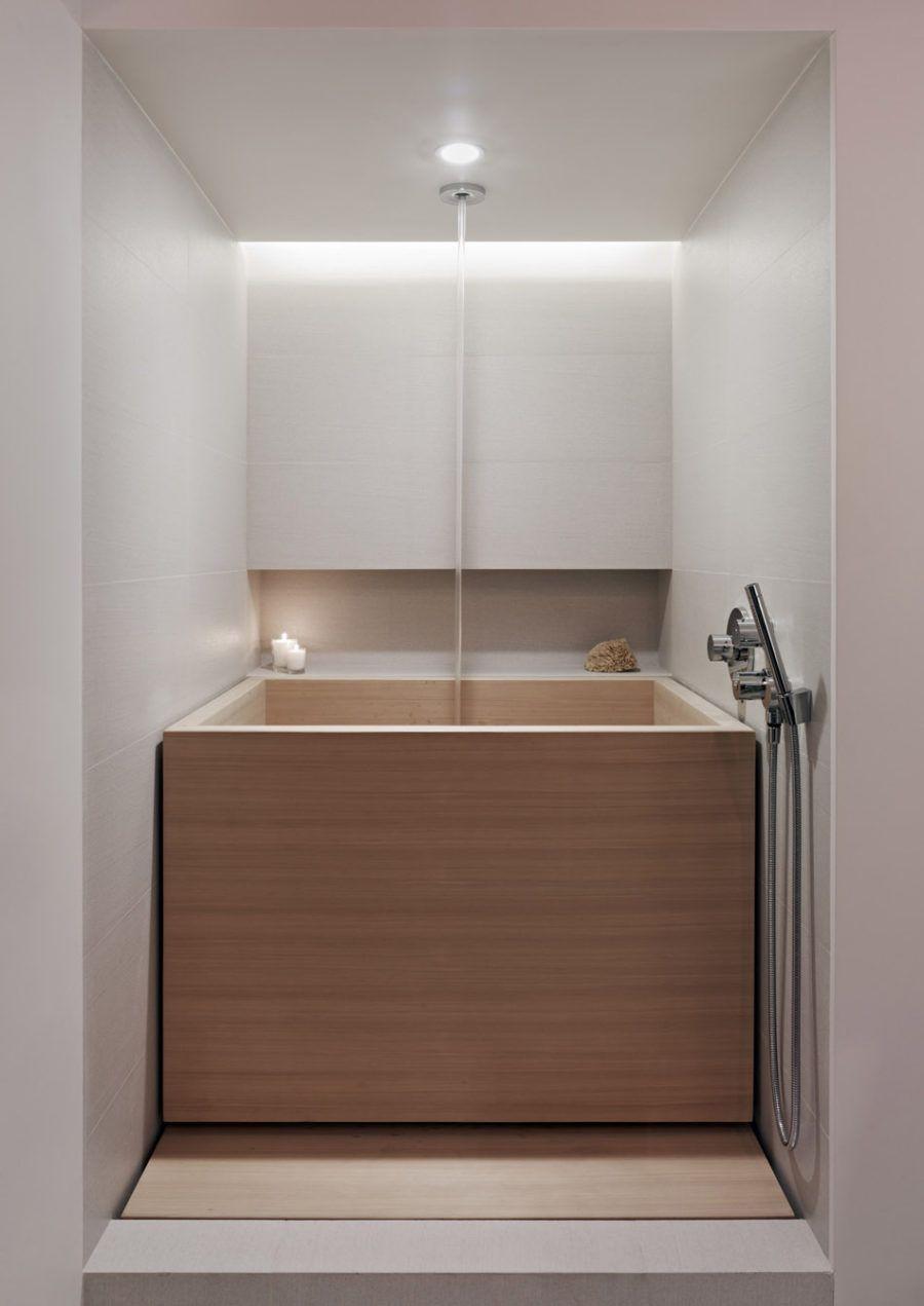 Kleine Badewanne Designs Fur Ultimative Entspannung Mit Bildern Badezimmer Design Holzbadewanne Kleine Badewanne