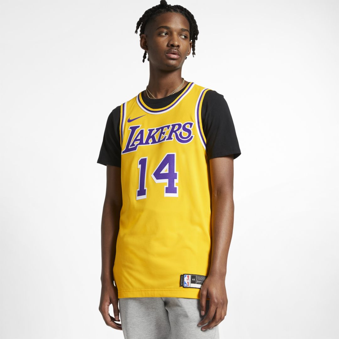 Lebron James Icon Edition Authentic Los Angeles Lakers Mens Nike Nba Connected Jersey Size 40 Amarillo In 2020 Los Angeles Lakers Lebron James Lakers Lakers